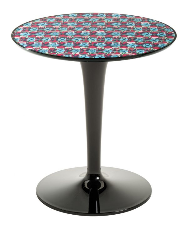 Side table Tip Top La Double J - Black | Pic-Nic Kartell Philippe Starck | Eugeni Quitllet 1