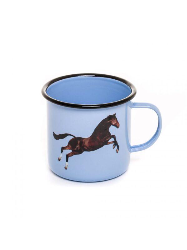 トイレットペーパーカップ -  Seletti色とりどりの馬Maurizio Cattelan | Pierpaolo Ferrari
