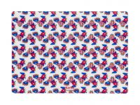 Rigid placemat L'Americana La Double J - / 42 x 30 cm - Galletti Kartell La Double J 1
