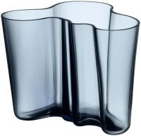 AlvarAalto花瓶-H160mmレインブルーIittalaAlvar Aalto 1