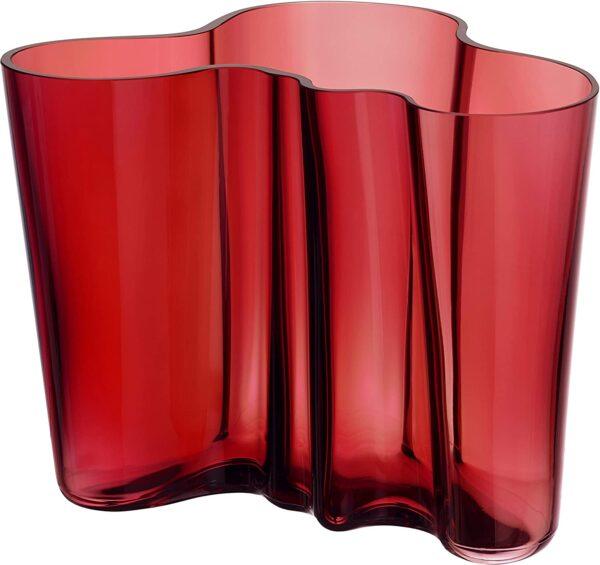Alvar Aalto Vase - H 160 mm Iittala Red Alvar Aalto 1