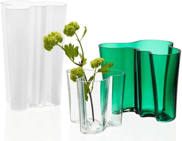 Alvar Aalto Vase - H 160 mm Iittala Green Alvar Aalto 2