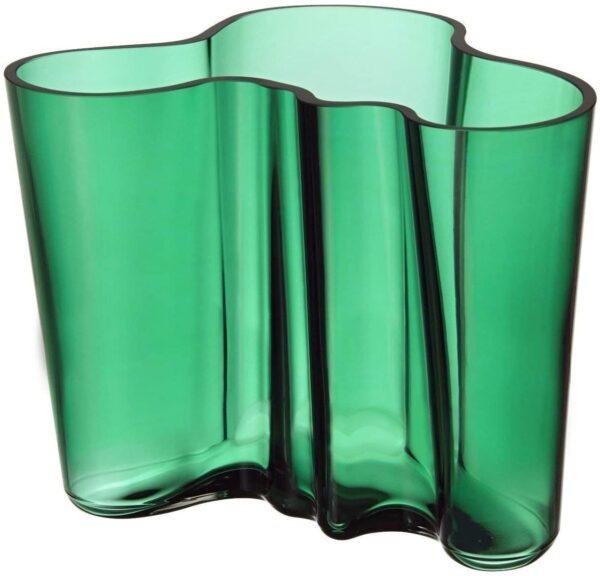 Alvar Aalto Vase - H 160 mm Iittala Green Alvar Aalto 1