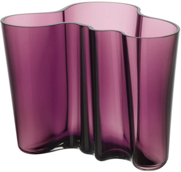 Alvar Aalto Vase - H 160 mm Purple Iittala Alvar Aalto 1