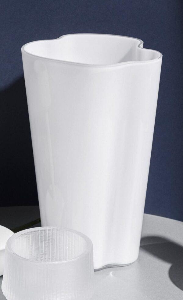 Alvar Aalto vaz - H 220 mm Blan Iittala Alvar Aalto 2