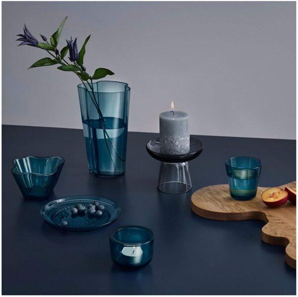 Alvar Aalto Vase - H 220 mm Sea blue Iittala Alvar Aalto 2