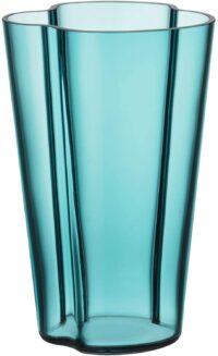 Alvar Aalto Vase - H 220 mm Seeblau Iittala Alvar Aalto 1