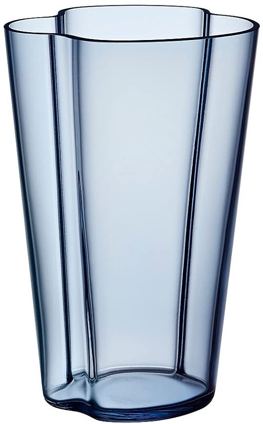 Vase Alvar Aalto - H 220 mm Bleu pluie Iittala Alvar Aalto 1