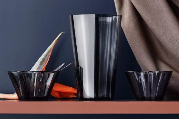 AlvarAalto花瓶-H220 mmIittalaグレーAlvarAalto 2