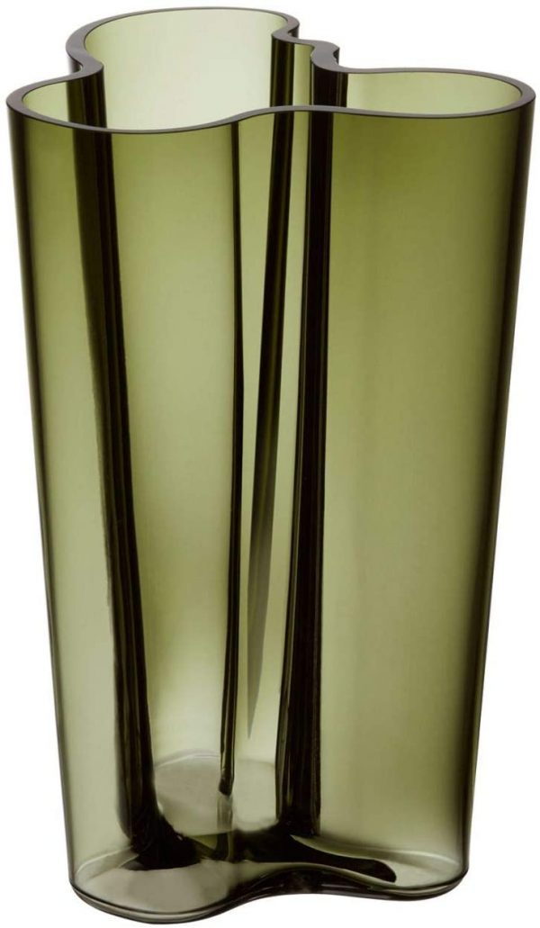 AlvarAalto花瓶-H251 mm Iittala Green Alvar Aalto 1