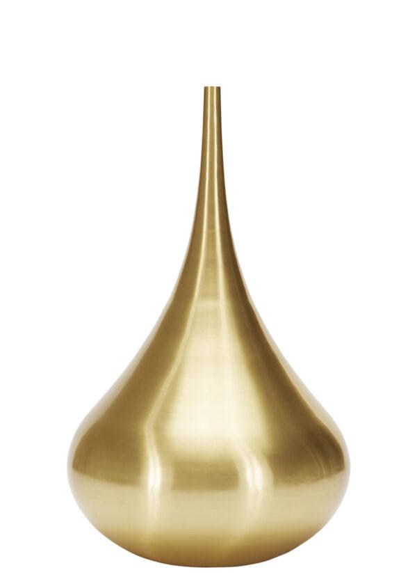 Vaso Drop Florero Drop Ø 55 x H 96 cm Latón Tom Dixon Tom Dixon