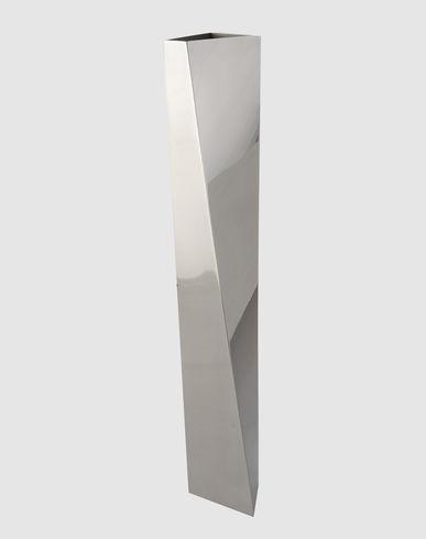 Βάζο Crevasse γυαλισμένο ανοξείδωτο ALESSI Zaha Hadid 1