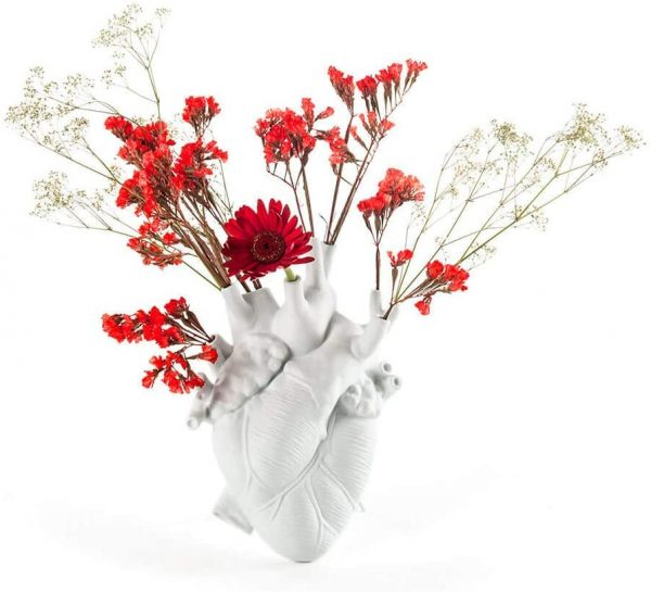Vase Love in Bloom White Seletti Marcantonio Raimondi Malerba