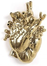 Love in Bloom Vase Gold Seletti Marcantonio Raimondi Malerba