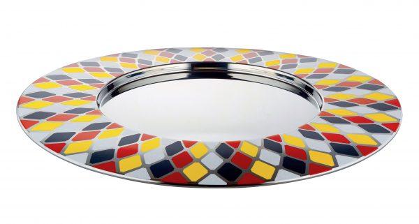 Vassoio Circus - Ø 48 cm Multicolore ALESSI Marcel Wanders 1