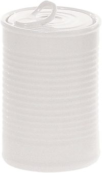 Daily Aesthetic Jar - Ø 7 x H 11 cm White Seletti Selab | Alessandro Zambelli