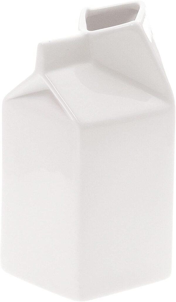 Caraffa Estetico quotidiano - Contenitore per il latte Bianco Seletti Selab|Alessandro Zambelli
