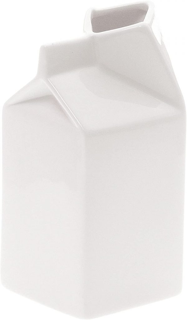 Ästhetische tägliche Karaffe - Seletti Selab Weißer Milchbehälter | Alessandro Zambelli