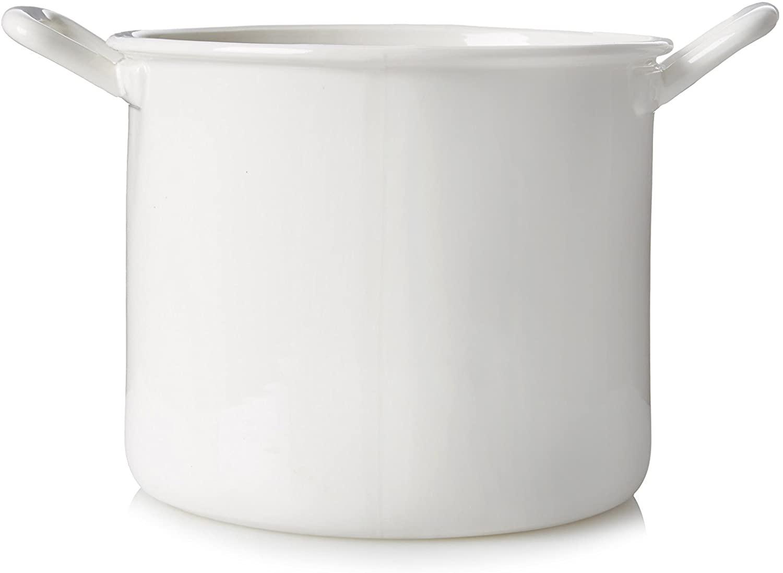Panier Esthétique Quotidien - Ø 19 x H 16 cm Blanc Seletti Selab | Alessandro Zambelli