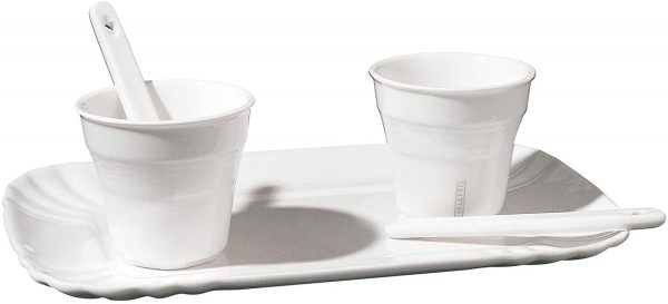 Daily Aesthetic Coffee Cup Set - For 2 people White Seletti Selab | Alessandro Zambelli
