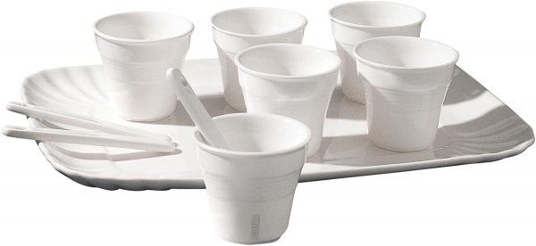 Daily Aesthetic Coffee Cup Set - For 6 people White Seletti Selab | Alessandro Zambelli
