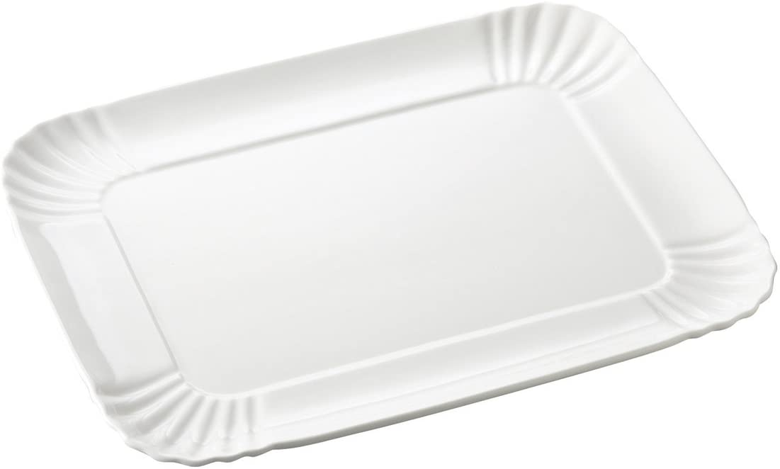 Tägliches ästhetisches Tablett - groß - 26 x 34 cm Weiß Seletti Selab | Alessandro Zambelli