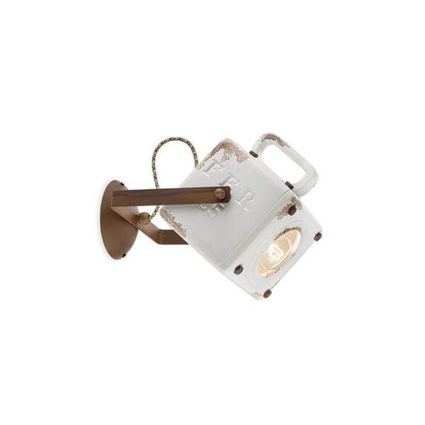Applique Industrielle C1651 Ferroluce Blanc 1