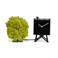 MONTRES Birdwatching Black | Green Progetti Studio Kuadra 1
