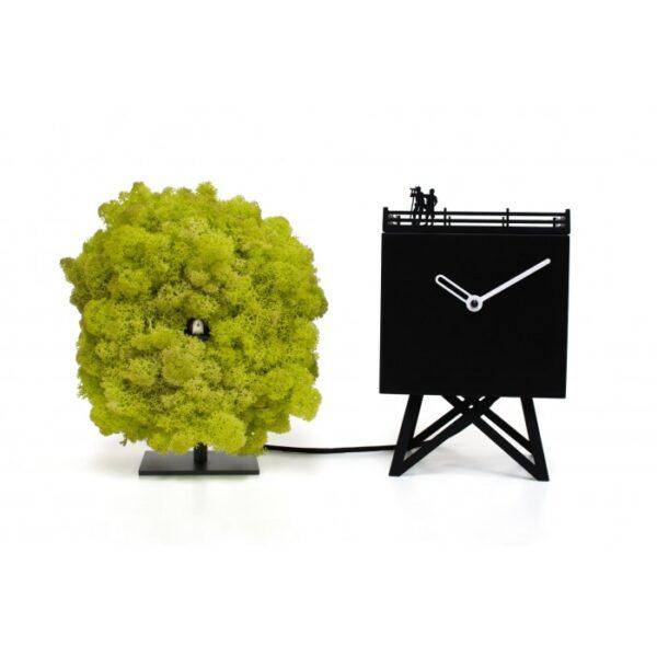 UHREN Vogelbeobachtung Schwarz | Grün Progetti Studio Kuadra 1