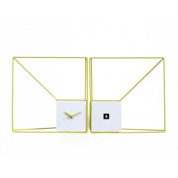 Deep Cucu WATCHES White Wire | Yellow Progetti Studio Kuadra 1