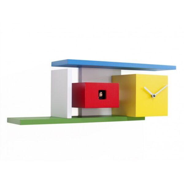 Mies RELÓGIOS Branco | Vermelho | Verde | Azul | Amarelo Progetti Barbero Design 1