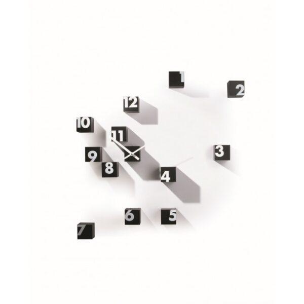 掛け時計Rnd_timeBiano | Nero Progetti rnd_lab 1