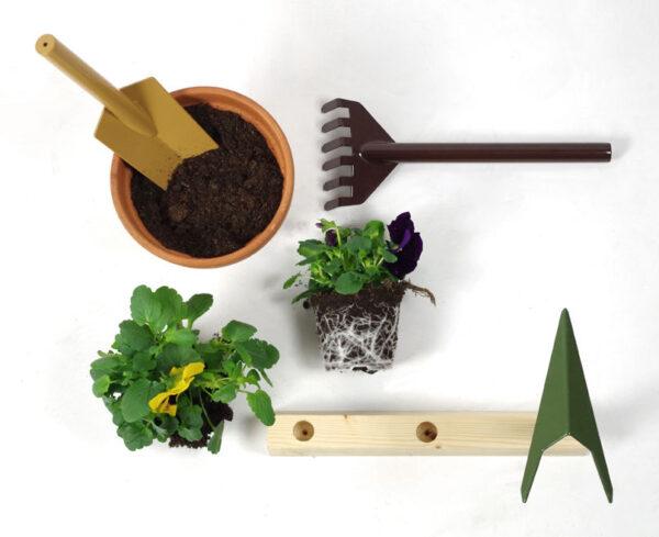Garden set tools Orte internoitaliano Giulio Iacchetti