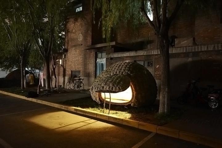 Huevo casa móvil, casa móvil en forma de huevo