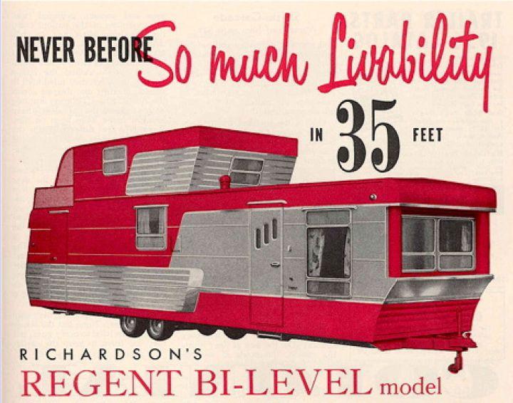 Vintage-modernen-Anhänger-home