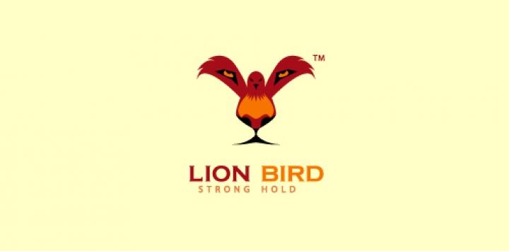 ライオン、鳥
