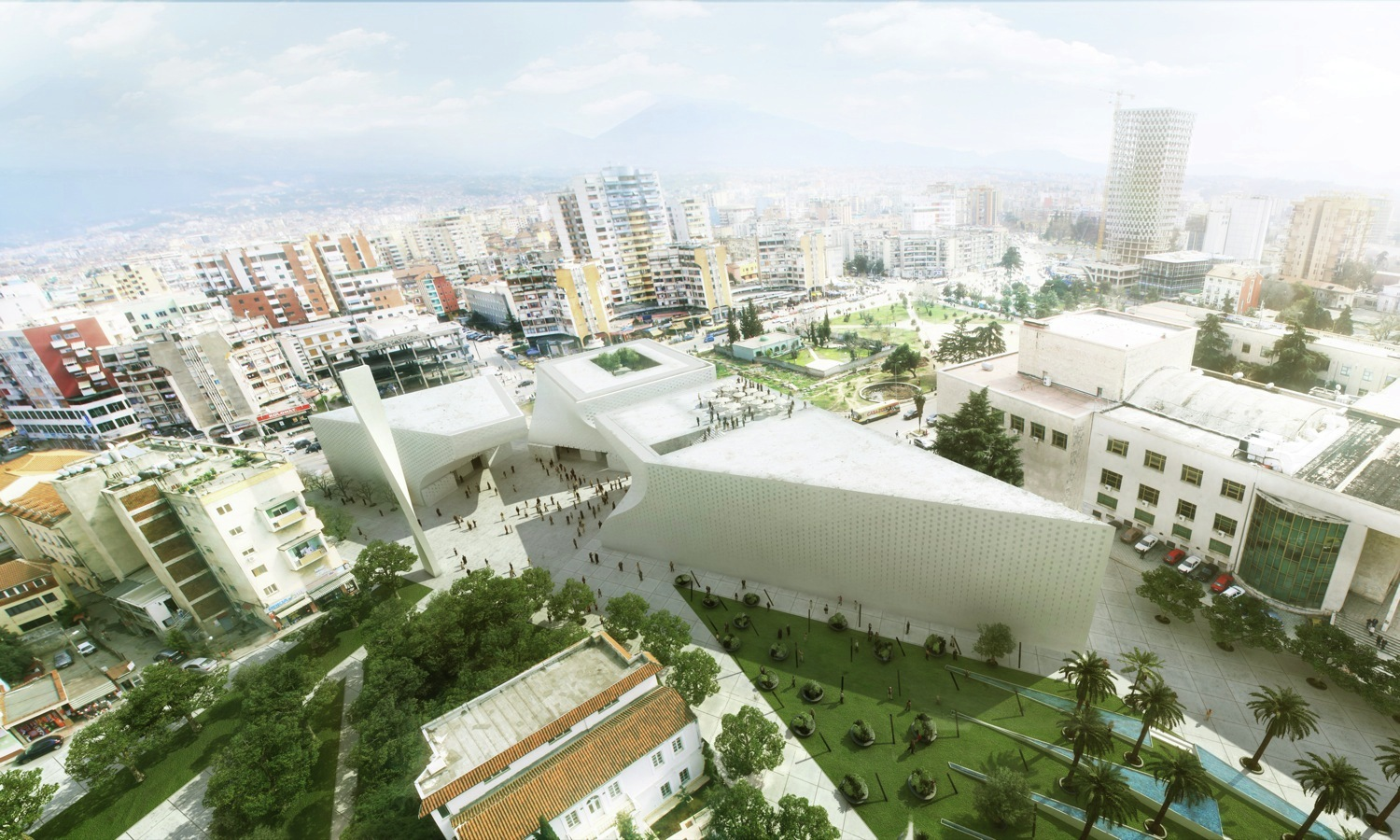 Architects Big Mosque and Islamic Cultural Center Tirana