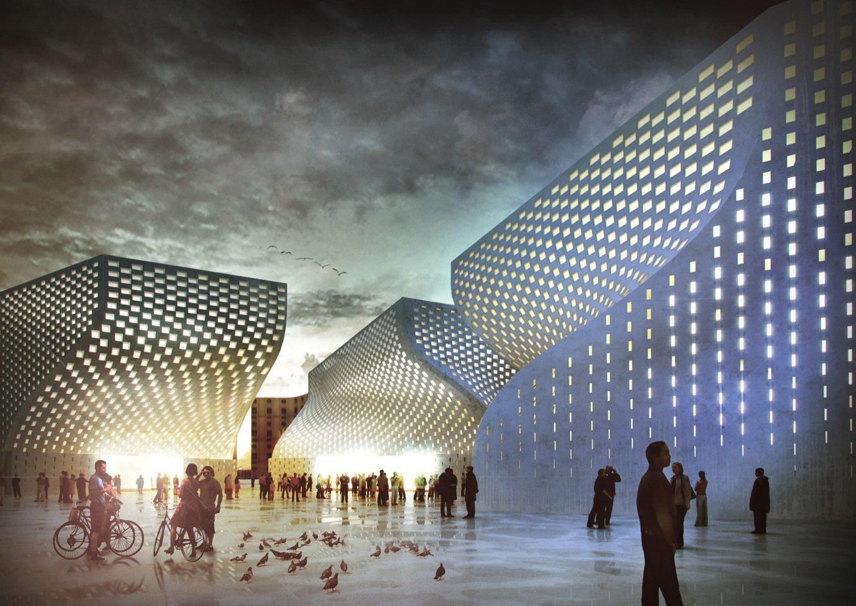 Big Architects Moschea e Centro Cultura islamica Tirana