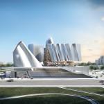Coop Himmelblau nuovo parlamento Tirana