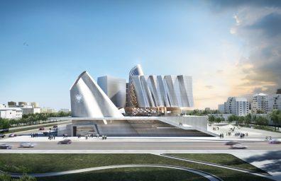 Coop Himmelblau nova Tirana Parlamento