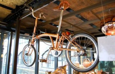 tom-Dixon-brompton dobrando-bike-cobre-1