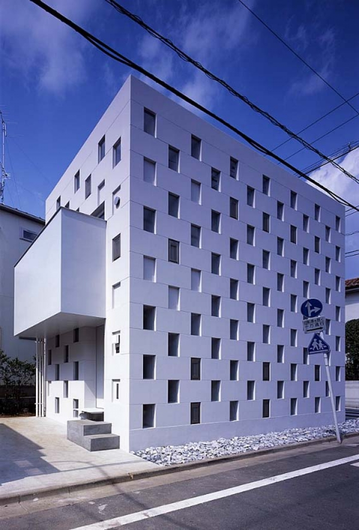 02_Cell_Brick_House_Atelier_Tekuto