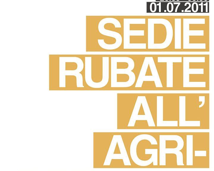 SEDIE_RUBATE_ALLAGRICOLTURA