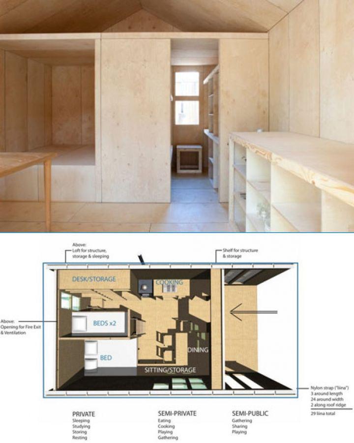 プレハブ-部屋-モデルスペース