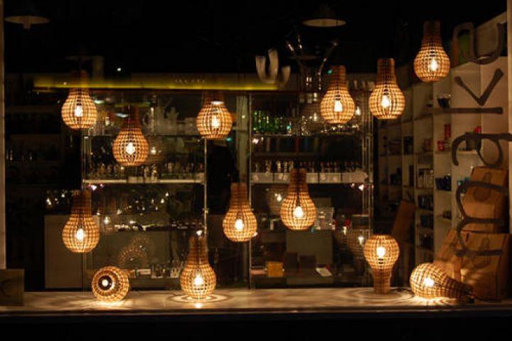 Madera-Bulb por Barend Hemmes-Modern-candeleros