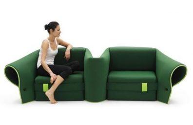 duplo sofá