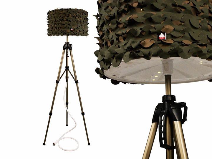 Να Martins REWASHLAMP camouflage02