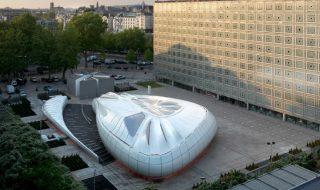 Zaha Hadid Mobile Art Pavilion