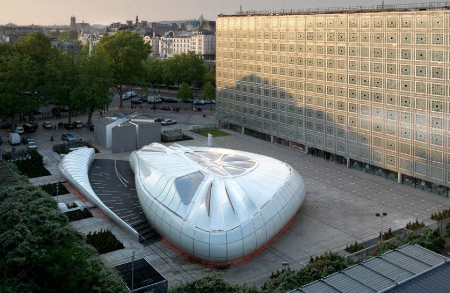 Móvel Pavilhão de Arte de Zaha Hadid