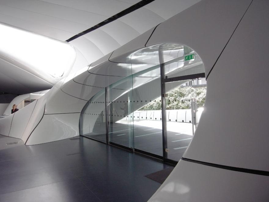 De Zaha Hadid Móvel Art Pavilion 06